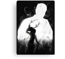 Detective's Shadow (Dark) Canvas Print