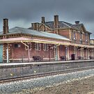 Railway Station, Stawell, Victoria by Adrian Paul