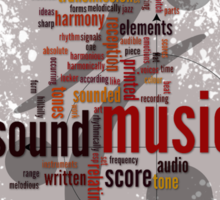 Sound Music Sticker