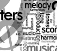 Music Matters Sticker