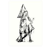 Pyramid Head Art Print