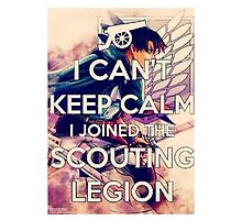 I can't keep calm i joined the scouting legion. by Nomad56641