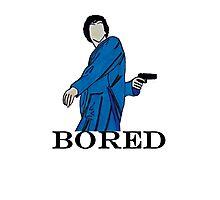 Bored Sherlock. Photographic Print