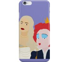 white and red queen  iPhone Case/Skin