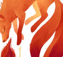 Fire Fox Sticker