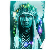 Magical Indian Chief Poster