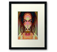 Cat Woman Framed Print