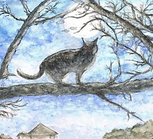 Moon Cat by Teresa White