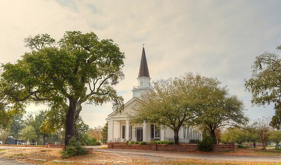 Belin Memorial United Methodist Church by Kathy Baccari