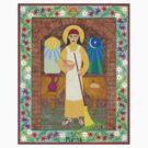 St. Martha Icon by David Raber