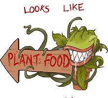 Plant Food by GroovyGecko