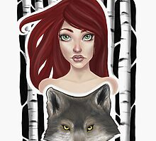 Inner Wolf  by Courtney Marie