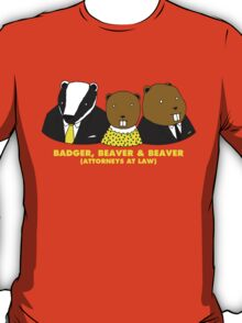 Badger, Beaver and Beaver T-Shirt