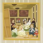The Maids of Honour (Spanish: Las Meninas) by alapapaju