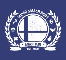 Smash Club Ver. 2 (White) by Bryant Almonte Designs
