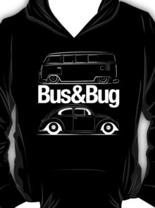 VW Bus & Beetle Logo T-Shirt