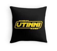 Mombay M'bwa. UTINNI! Throw Pillow