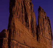 Arches National Park majesty by Chris Kiez