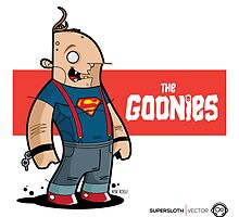 Supersloth Vector - The Goonies by Diego Riselli
