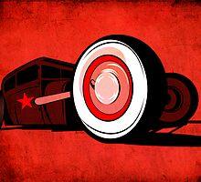Rat Rod Red by Josh Burt