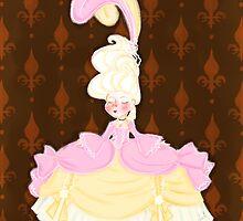 Marie Antoinette by Delucienne Maekerr