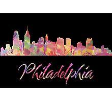 Philadelphia Skyline Photographic Print