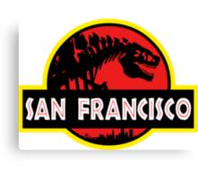 Godzilla Park - San Francisco Canvas Print