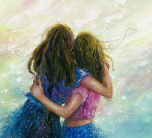 Big Sister Hug by VickieWade