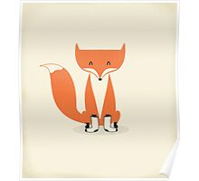 A Fox With Socks Poster
