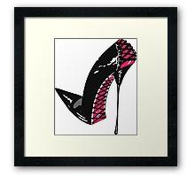 Stiletto Chic Framed Print