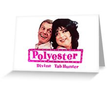 """""""Polyester (1981)"""" Greeting Card"""