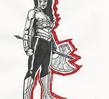 Wonder Woman by Matthew Merys