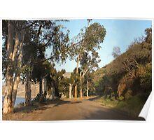 Approaching El Capitan Reservoir, San Diego County, California, 10 Poster