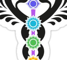 Caduceus - Kundalini - 7 Chakras Sticker