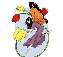 Tulip Fairy by Wickabee