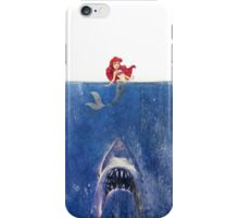 Jaws vs Ariel  iPhone Case/Skin
