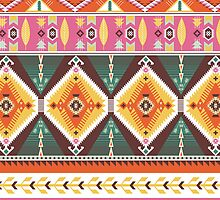 Pattern in native american style by tomuato