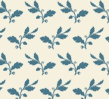 Leaf Pattern by Claire Elford