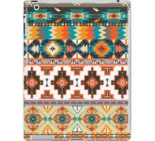 Navajo pattern with geometric elements  iPad Case/Skin