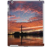 Vivid Skyscape - Summer Sunset at Toronto Beaches Marina iPad Case/Skin