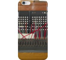 Telephone Exchange Vintage iPhone Case/Skin