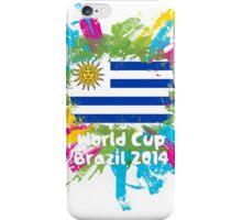 World Cup Brazil 2014 - Uruguay iPhone Case/Skin