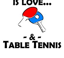 Love And Table Tennis by kwg2200