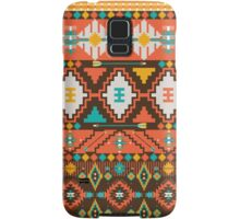 Aztec geometric seamless  colorful pattern Samsung Galaxy Case/Skin