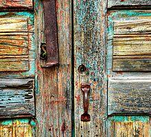 Double Door Hardware by Ken Smith