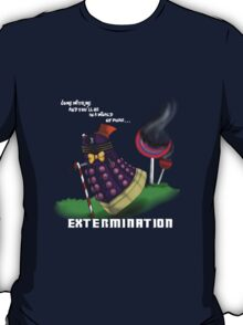Dalek and the chocolate factory T-Shirt