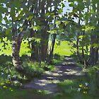 Path in the Park by Karen Ilari