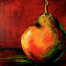 Red Pear by © Janis Zroback