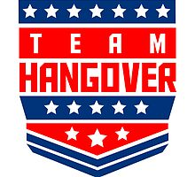 Team hangover rank badge by Style-O-Mat