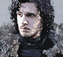 Jon Snow by Empires Arcade